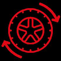 Hjulskift og opbevaring - Bonusværksted Falck