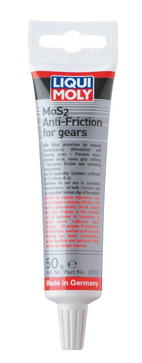 MoS2 anti friktion til gearkasser fra LIQUI MOLY